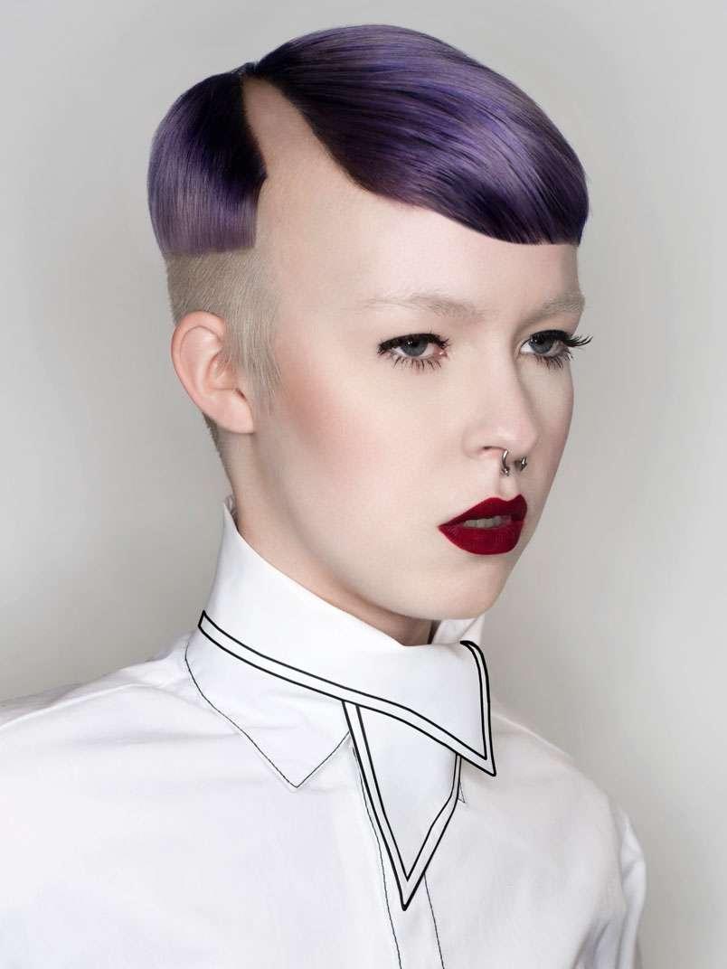 corte para cabello corto mujer